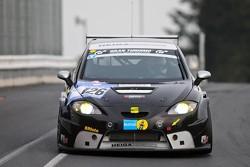#126 Seat Leon Supercopa: Heiner Immig, Klaus Weigner, Maxi Hackländer