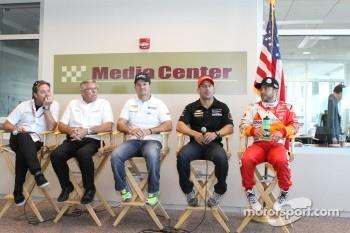 KV Racing Technology, Jimmy Vasser, Mark Johnson, Rubens Barrichello, Tony Kanaan and E.J. Viso