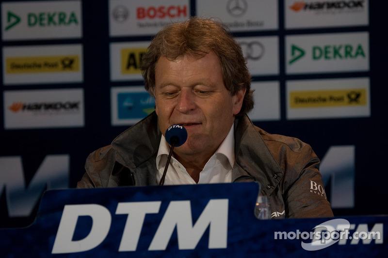 Norbert Haug, Head of Mercedes Motorsport