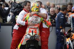 Second place Valentino Rossi, Ducati Marlboro Team