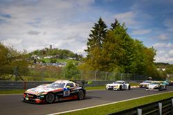 Formation lap: #65 Hankook-Team Heico Mercedes-Benz SLS AMG GT3: Bernd Schneider, Lance David Arnold, Alexandros Margaritis, Kenneth Heyer