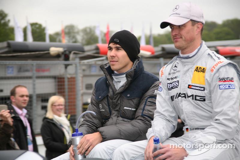 Robert Wickens, Mücke Motorsport AMG Mercedes C-Coupe, Ralf Schumacher, Team HWA AMG Mercedes, AMG M