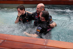 Christian Horner, Red Bull Racing, Sporting Director and Adrian Newey, Red Bull Racing Chief Technical Officer