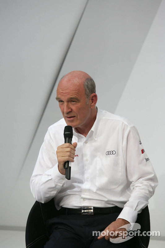 Dr. Wolfgang Ullrich, Audi's Head of Motorsport