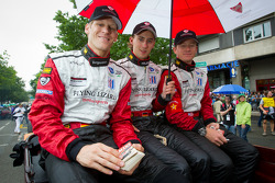 Jörg Bergmeister, Marco Holzer and Patrick Long