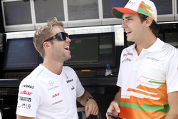 Sam Bird y Jules Bianchi