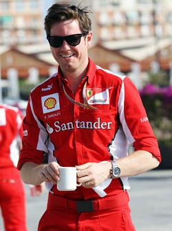 Rob Smedley, Scuderia Ferrari Race Engineer