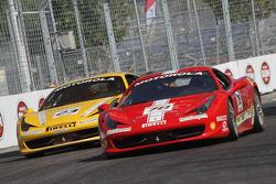 #23 Ferrari of Central Florida 458TP: Onofrio Triarsi and #78 Ferrari of San Diego 458CS: Al Hegyi