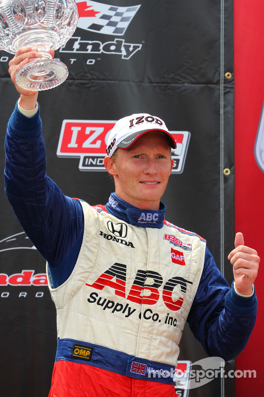 Mike Conway, A.J. Foyt Racing Honda