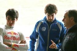 Carlos Sainz Jr, Jose Manuel Lopez Garcia