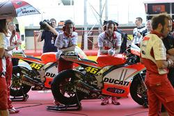 Área de equipo de Ducati