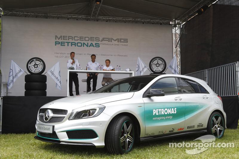 Michael Schumacher y Nico Rosberg, Mercedes AMG F1
