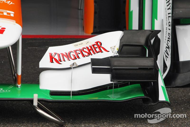 Sahara Force India F1 VJM05 voorvleugel
