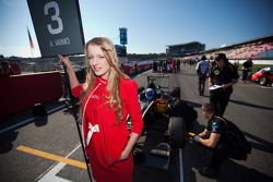 Grid Girl of Aaro Vainio