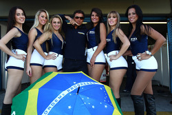 Grid Girls and Stefano D'Aste, BMW 320 TC, Wiechers-Sport