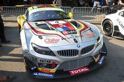 #4 Marc VDS Racing Team BMW Z4 GT3: Bert Longin, Henri Moser, Mike Hezemans