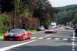 #57 Vita4One Team Italy Ferrari 458 Italia: Eugenion Amos, Giacomo Petrobelli, Alessandro Bonacini, Jonathan   Hirschi