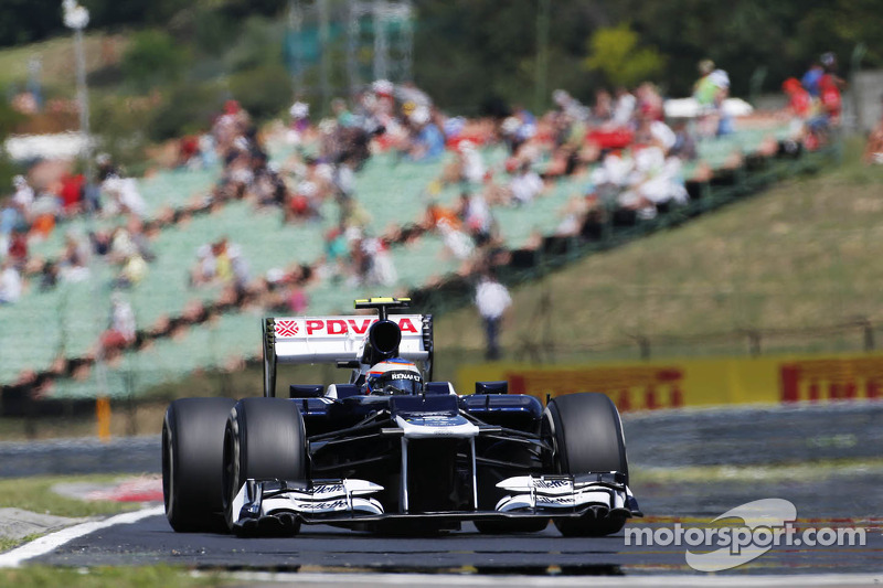 Ya pilotaba el Williams en los libres