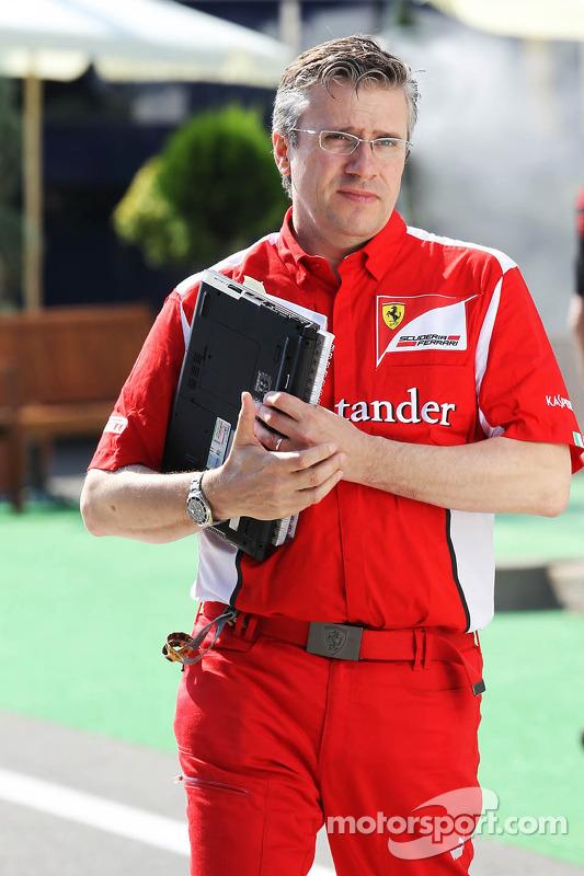 Pat Fry, Ferrari Deputy Technical Director en Head of Race Engineering