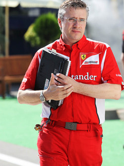 Pat Fry, Ferrari Deputy Technical Director and Head of Race Engineering