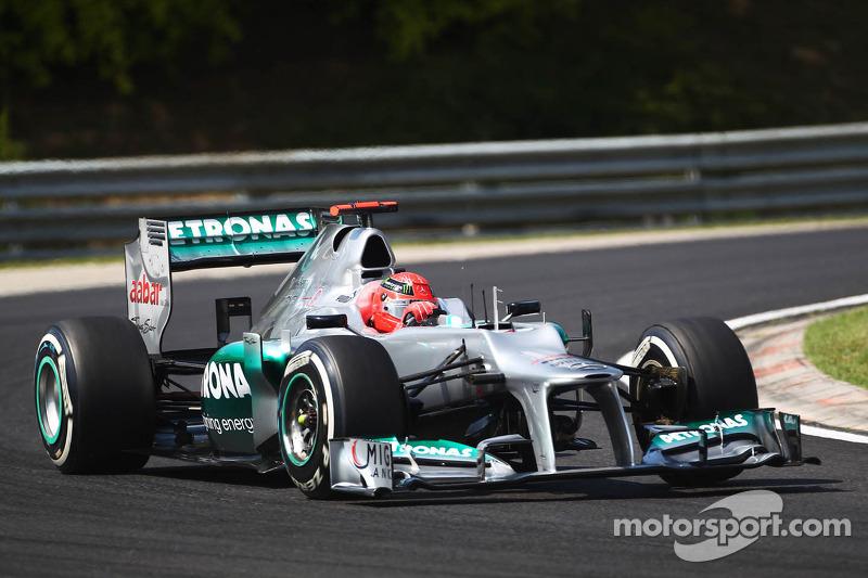 Michael Schumacher - GP de Hungría de 2012
