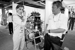 Cyndie Allemann met ingenieur