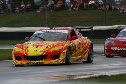 #40 Dempsey Racing Visit Florida Mazda RX-8:  Joe Foster, Patrick Dempsey, Tom Long
