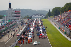 Starting grid ambiance