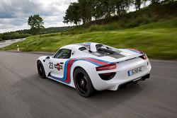 Porsche 918 Spyder in Martini Racing kleuren