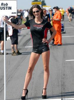 Rob Austin Racing Grid Girl