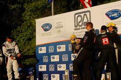 Victory Lane: second place Klaus Graf, winners Chris Dyson, Guy Smith