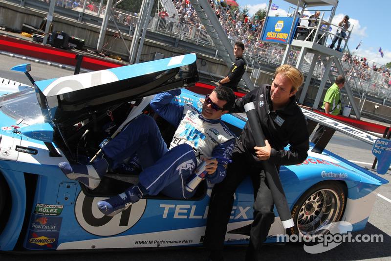 Race winner #01 Chip Ganassi Racing With Felix Sabates BMW Riley: Scott Pruett, Memo Rojas