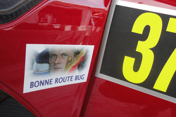 A tribute to Philippe Bugalski on Daniel Sordo's car