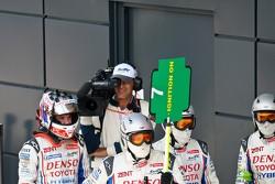 Toyota mecaniciens klaar voor pitstop