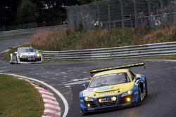 #15 Audi Sport Team Phoenix Audi R8 LMS ultra: Marc Basseng, Frank Stippler