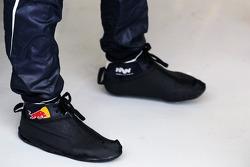 Schoenovertrekjes van Mark Webber, Red Bull Racing
