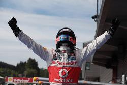 1ste plaats Jenson Button, McLaren Mercedes