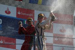 Podium: winner Luca Filippi, second place Johnny Cecotto