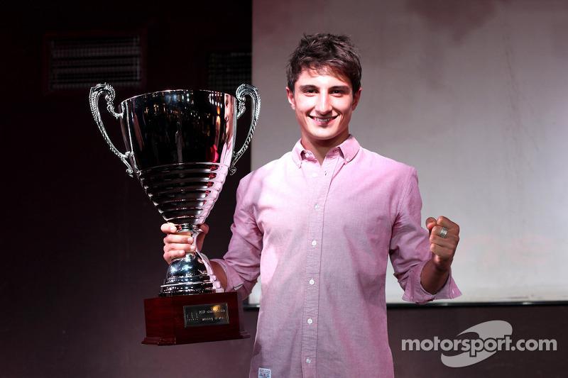 2012 GP3 Series Champion Mitch Evans