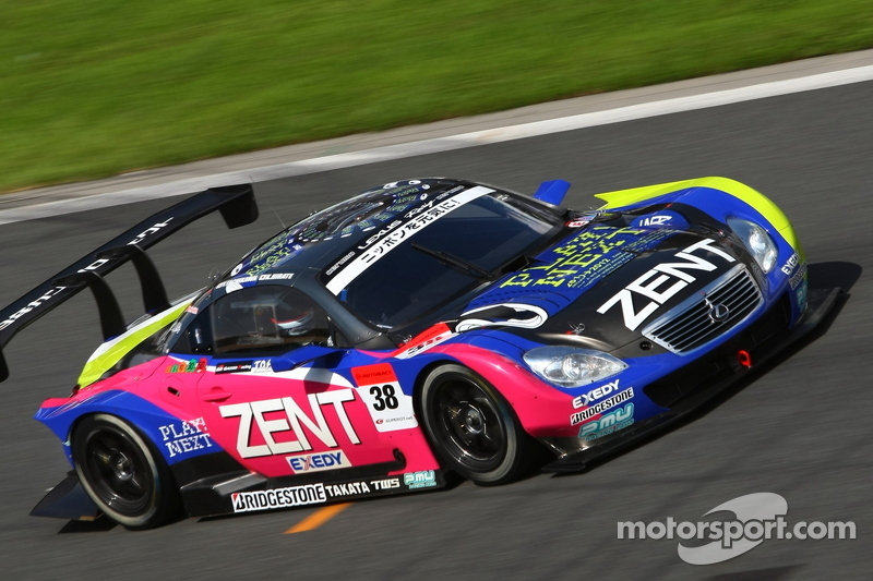 #38 Lexus Team Zent Cerumo Lexus SC430: Yuji Tachikawa, Kohei Hirate