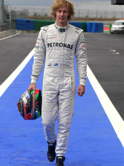 Dean stoneman, williams f1 team at abu dhabi young driver test.