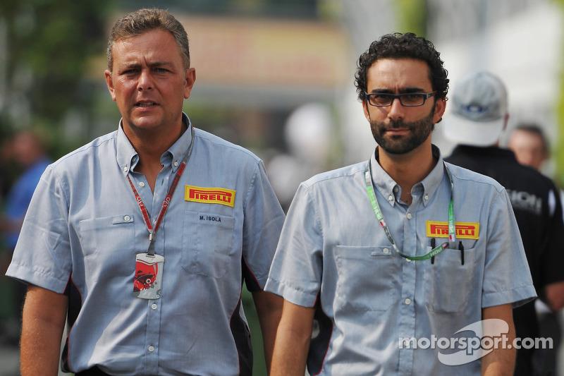 Mario Isola, Pirelli Racing Manager,