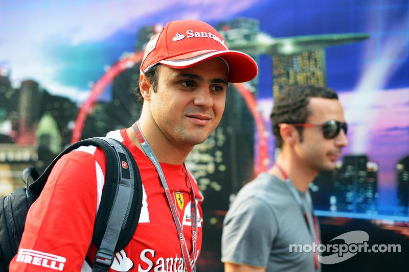 Felipe Massa, Ferrari with his manager Nicolas Todt, Driver Manager