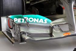 Mercedes AMG F1 voorvleugel