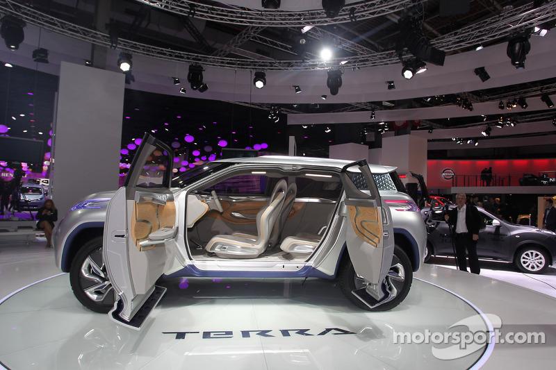 Nissan Terra At Paris Mondial De Lautomobile Automotive Photos