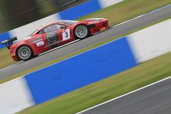 #3 AF Corse  Ferrari 458 Italia: Filip Salaquarda, Marco Cioci