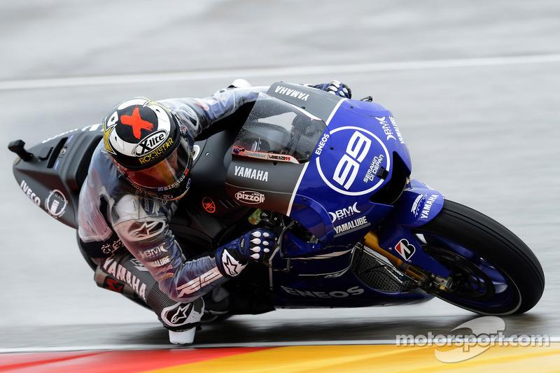 Jorge Lorenzo, Yamaha Factory Racing en el GP de Aragón 2012