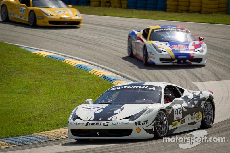 #42 Ferrari of Houston 458TP: Richard Fant