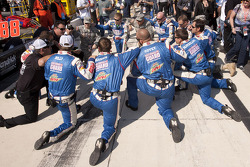 The Hendrick Motorsport crew pre-race