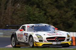 #6 ROWE Racing Mercedes SLS AMG GT3: Nico Bastian, Marko Hartung, Mark Bullitt